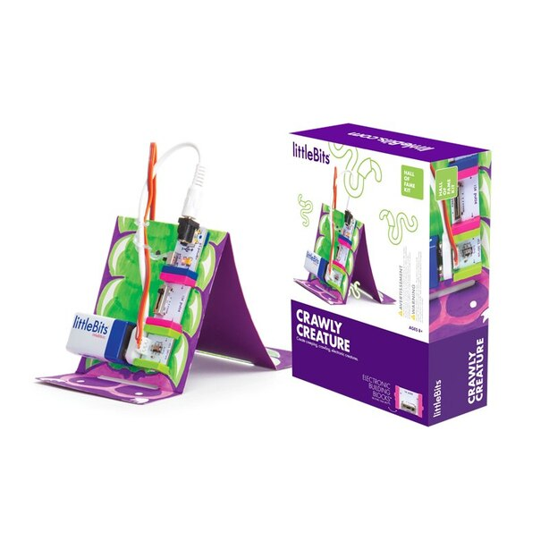 littleBits Hall of Fame Kit Crawly Creature