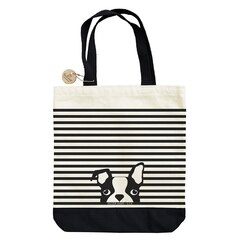 Dog Stripe Tote