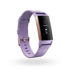Fitbit Charge 3 Special Edition - Rose Gold Aluminum Case with Lavender Band