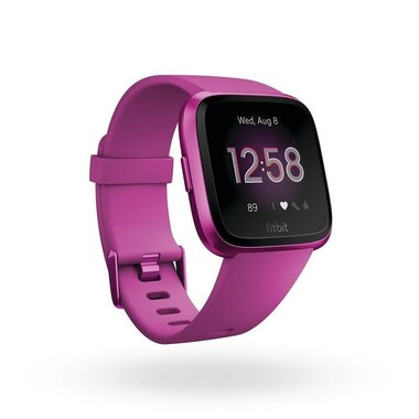 Fitbit Versa Lite - Mulberry with Mulberry Aluminum