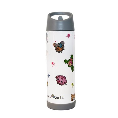 TOKIPIP INSULATED WATER BOTTLE 16OZ, CACTUS FRIENDS