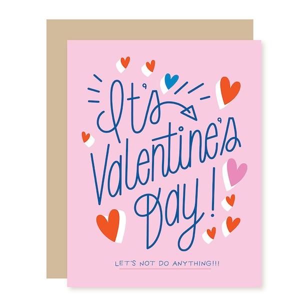 Paper E. Clips Valentine Card Val Day