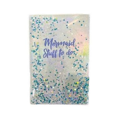 iScream® Floating Glitter Journal Mermaid