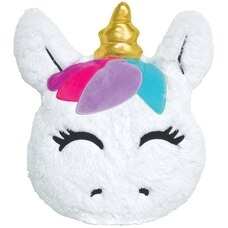 Iscream® Furry Scented Pillow Goldie Unicorn
