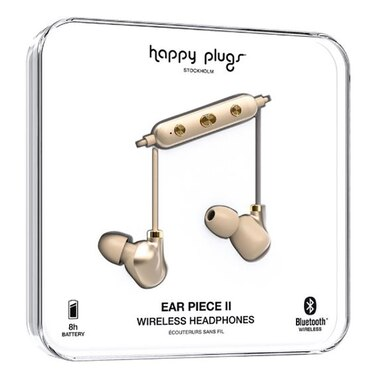 Happy Plugs Ear Piece II - Matte Gold