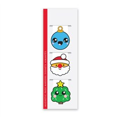 Magnetic Bookmark Christmas Icons