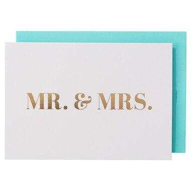 Mr. & Mrs. Notecards