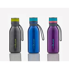 Base Brands Hydro Pro Bottle with Carry Strap 14 oz 1 of 3 Assorted Colours