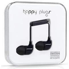 HAPPY PLUGS IN-EAR - BLACK