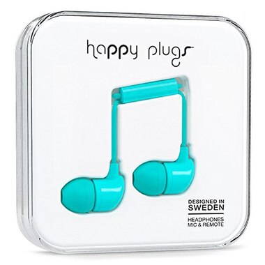 HAPPY PLUGS IN-EAR EARBUDS TURQUOISE