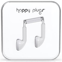 Happy Plugs Earbuds - White