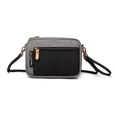 Petunia Pickle Bottom - Adventurer Belt Bag in Graphite/Black