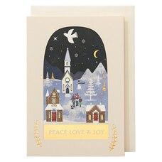 Holiday Boxed Cards Christmas Globe
