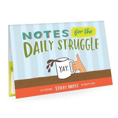 Sticky Note Set Daily Struggle