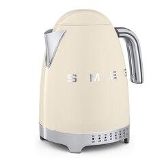 Bouilloire Smeg à température variable – Crème