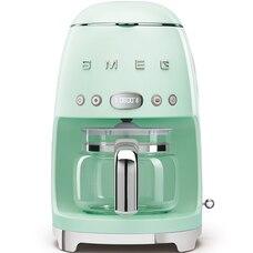 SMEG 10-CUP COFFEEMAKER PASTEL GREEN