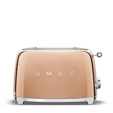 Grille-pain Smeg à 2 tranches – Or rose