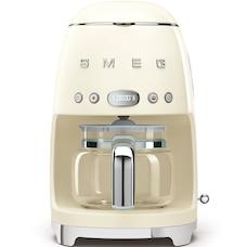 SMEG 10-CUP COFFEEMAKER CREAM