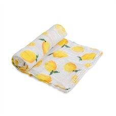 Little Unicorn 100% Cotton Muslin Swaddle Single - Lemon