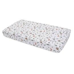 Little Unicorn Crib Sheet- Forest Friends