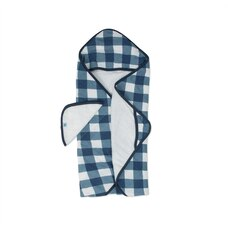 Little Unicorn Hooded Towel and Washcloth 100% Cotton Jack Plaid