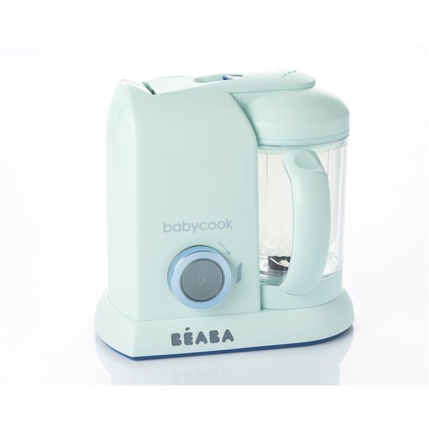 Beaba Babycook Baby Food Processor - Maccaron Collection - Blueberry Blue