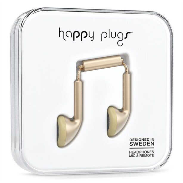 Happy Plugs Earbud Champagne