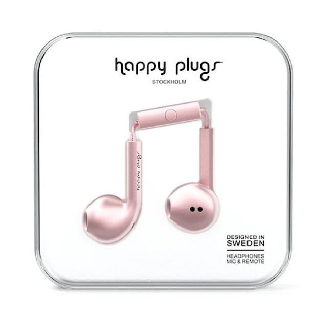 Happy Plugs Earbud Plus - Pink Gold