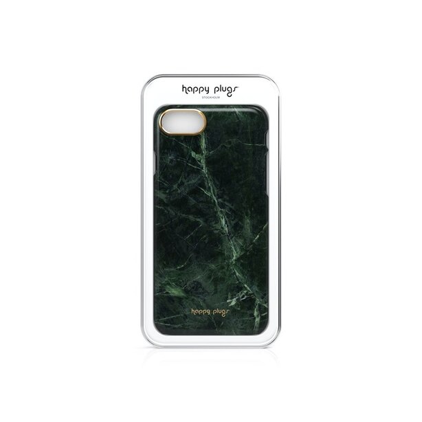 Happy Plugs Slim Marble Case for iPhone 7 - Green