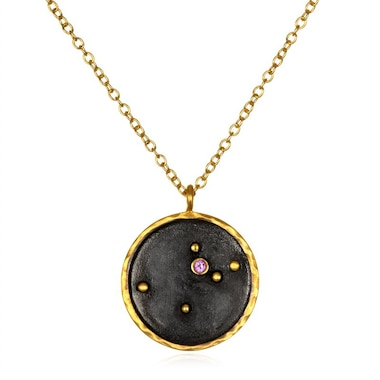 for treasure in silver necklace made ireland zodiac box gold jewellery a products my grande constellation delicate