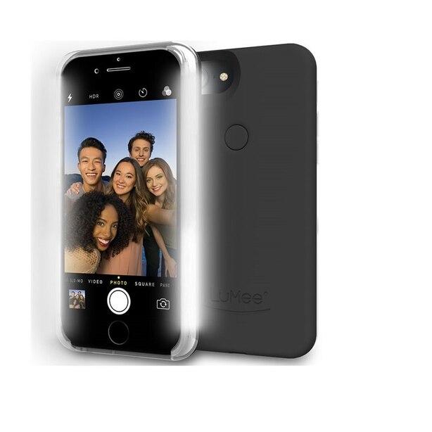 LuMee Two Case for iPhone 7 Plus/6s Plus/6 Plus Black