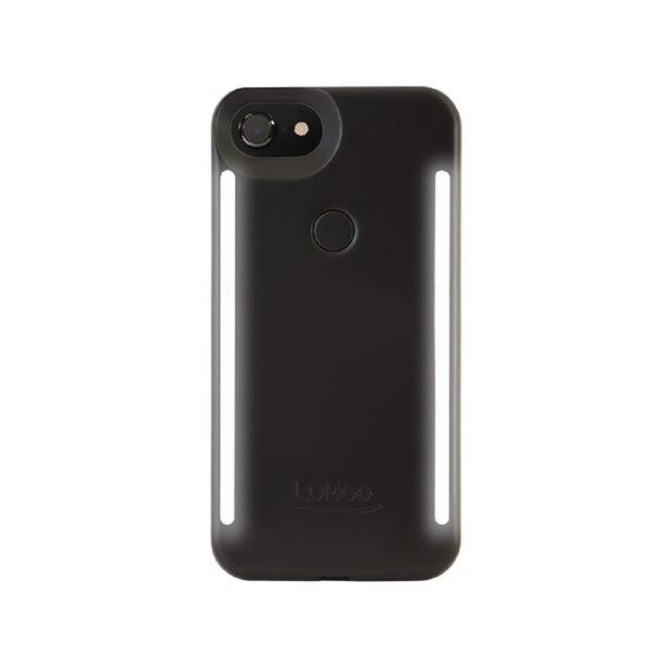 Lumee Duo Case for iPhone 7+/6+/6S+ - Black