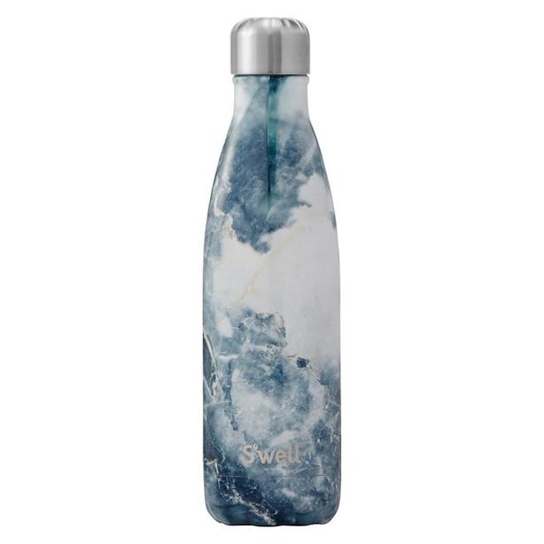 SWELL BLUE GRANITE WATER BOTTLE 17 OZ