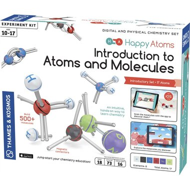 Happy Atoms - Introductory Set (17 Atoms)