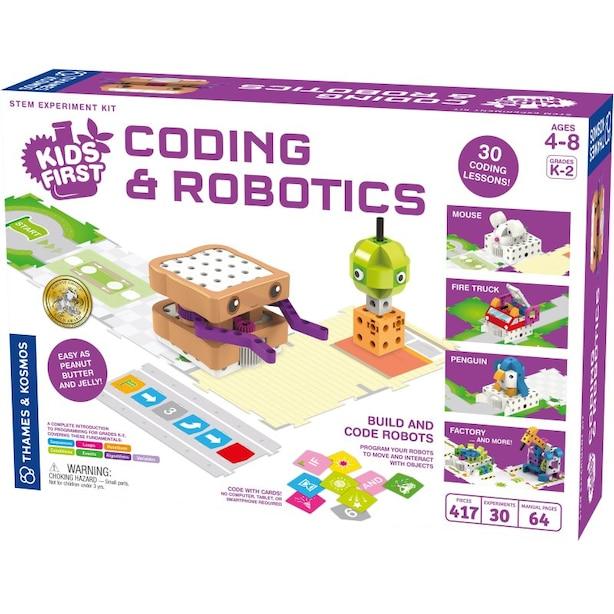 Thames & Kosmos Coding & Robotics Science Experiment Kit