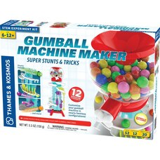 Thames & Kosmos GUMBALL MACHINE MAKER SUPER STUNTS