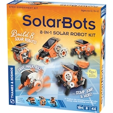 Thames & Kosmos SolarBots: 8-in-1 Solar Robot (Science Experiment Kit)