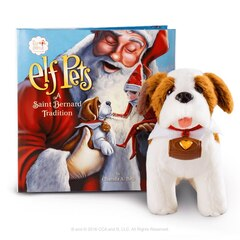 The Elf On The Shelf - Elf Pets A Saint Bernard Tradition - English