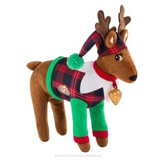 The Elf On The Shelf - Clause Couture - Playful Reindeer PJ's Bilingual