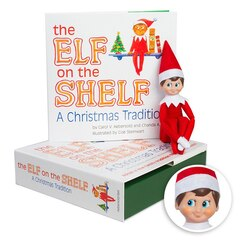 The Elf On The Shelf - Boy Light - Box set - English Book
