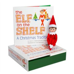 The Elf On The Shelf - Girl Light - Box set - English Book
