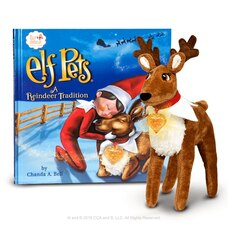 The Elf on the Shelf - Animaux Elf Une Tradition de Rennes - Francais Livre