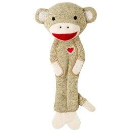 Plush Sock Monkey Bookmark by Andrews + Blaine Ltd
