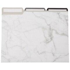 File Folder Set — Marble