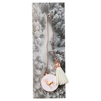 Tassel Bookmark Nordic White