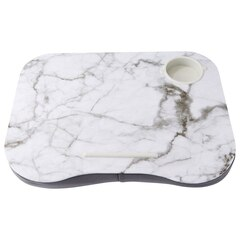 Lap Desk — Marble, White