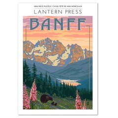 1,000 Pc Puzzle Banff