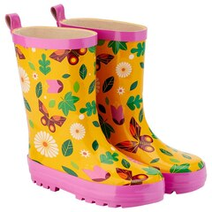Kid Made Modern® Garden Boots Rubber Butterfly Garden Large Size 9 to 10