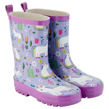 Kid Made Modern® Garden Boots Rubber Unicorn Garden Large Size 9 to 10