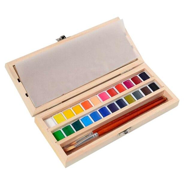 Hand Made Modern Watercolour Set of 24